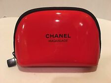 Chanel Maquillage Red Makeup Bag