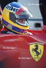 Michele Alboreto Ferrari F1 Ritratto Fotografia 1