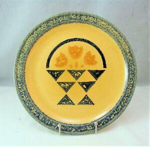 "Pfaltzgraff M.A.F.a. AMERICA Pattern ""Basket"" Dinner Plate"