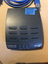 BT VOYAGER 100 USB ADSL MODEM - Used with USB lead