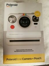 New Polaroid Now Auto-Focus I-type Instant Film Camera Bundle With Pouch White