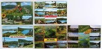 Postkarten Lot Rheinland-Pfalz 5x EIFEL Maare Vulkaneifel Eifelmaare gebraucht