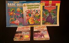 Vintage Reading Books and Cards - Excellent for Home School - Old School Results