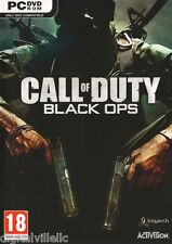Call of Duty Black Ops PC Brand New Sealed Fast Shipping.