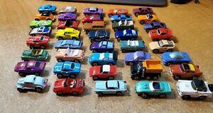 VTG Vintage Micro Machines Galoob 40 Piece Lot Vette Ferrari Porsche Cobra Rare