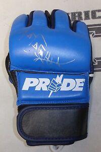 Nobuhiko Takada Signed Pride FC MMA Glove PSA/DNA COA Rizin New Japan Autograph