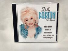 Rare Dolly Parton & Friends UK Import CD Forever Gold 2001 cd6394