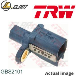 WHEEL SPEED SENSOR FOR VOLVO FORD S40 II MS B 5254 T3 B 5254 T7 V50 MW G6DG TRW