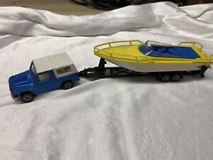 Siku 2525,PKW mit Sportboot,Mercedes GE,selten,Sammlungs Auflösung