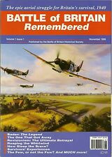 WW2  BATTLE OF BRITAIN HISTORICAL SOCIETY Magazine Douglas Bader RAF Ace Pilot