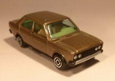 Vintage Guisval Seat Fiat 131 Sedan Gold 1:43 Spain Excellent