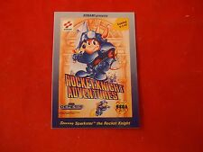 Rocket Knight Adventures Promotional Trading Card Promo Giveaway Coming 9-3-93