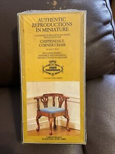 Chippendale Corner Chair ECKSTUL 1750-1780 Mini Mundus Dollhouse Miniature RARE