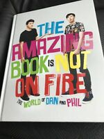 The Amazing Book is Not on Fire by Lester, Phil, Howell, Dan, Hardback