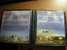 9/11 10th Anniversary  - Colorized Quarters September 11th Commemorative Set.