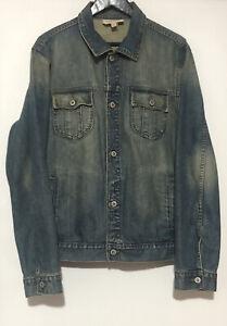 Jag Denim Jacket Men XL Washed Blue