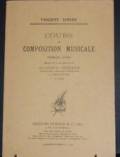 Cours de composition musicale