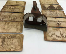 Antique Wooden Stereoscope Photo Viewer 1897