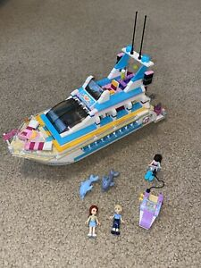 LEGO Friends Dolphin Cruiser, set 41015, complete With Minifigs No Manual