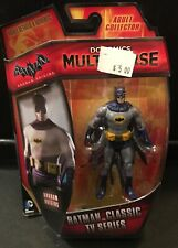 "Batman Adam West 4"" Action Figure 2014 DC Classic TV Multiverse Mattel MOC Game"