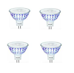 Philips Gu5.3 LED Lampe 7W = 50W MR16 Warmweiß  621lm Reflektor Spot Licht [4er]