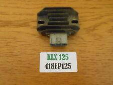 Kawasaki KLX125 Regulador Rectificador 418EP125