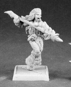 Reaper Kaya the Reaper, Female Barbarian Sergeant #14600 Icingstead Unpainted