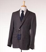 NWT $1595 GAIOLA NAPOLI Deconstructed Woven Wool Sport Coat Slim 42 R (Eu 52)