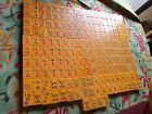 EXQUISITE 184 TESTED BAKELITE MAH JONG Orphan Tiles!  PRAYER  BEADS!  CRAFTS!