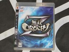 Playstation 3 PS3 Import Game Musou Orochi Warriors Z Asian Japanese Language