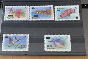 Anguilla Stamps 1984 Definitives Overprints MNH