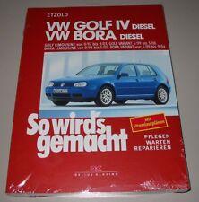 Reparaturanleitung VW Golf 4 IV Typ 1J + Bora + Variant Diesel So wirds gemacht