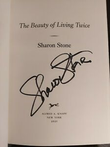 SHARON STONE Biographie Buch Book signiert Autogramm COA signed IN PERSON