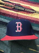 Vintage Deadstock Boston Red Sox Snapback Adjustable Hat Cap 80s 90s MLB