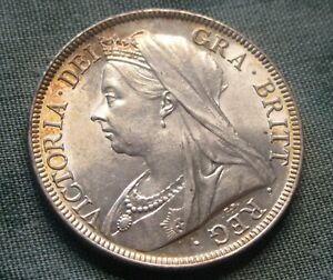 1897 HALFCROWN Victoria Good Extremely Fine , Lightly Toned