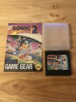 Sonic the Hedgehog 2 Game gear with Manual, Authentic and works!