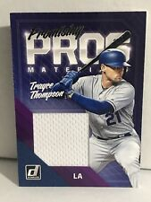 2018 Donruss Trayce Thompson LA Dodgers Promising Pros Player Used Jersey