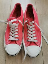 CONVERSE JACK PURCELL UK8 EUR 42.5 SALMON PINK RED
