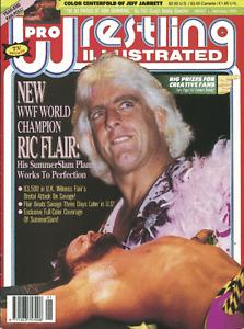 Pro Wrestling Illustrated Magazine (January 1993) Ric Flair WWF WCW WWE PWI