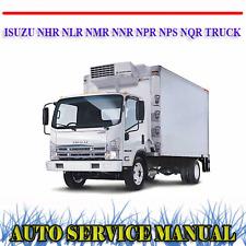 ISUZU NHR NLR NMR NNR NPR NPS NQR TRUCK 2007-2010 WORKSHOP SERVICE MANUAL ~ DVD