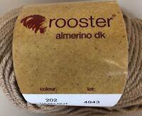 Rooster Almerino DK Yarn Hat Scarf Alpaca Merino Wool Knit Crochet