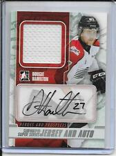 12-13 Heroes and Prospects Dougie Hamilton Subway Super Series Jersey Auto
