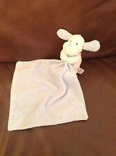 Marks And Spencer Blue Comfort Blanket Puppy Dog With Love Baby Comforter M&S