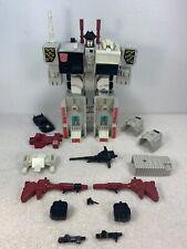 Metroplex 1985 Vintage Hasbro G1 Transformers Action Figure See Pics