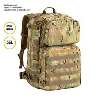 US Military FILBE Assault Pack with Pouch,Army Tactical Backpack Multicam