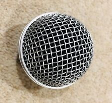 Performance Plus M58S Mesh Microphone Grill Replacement for Shure SM58 - Nickel