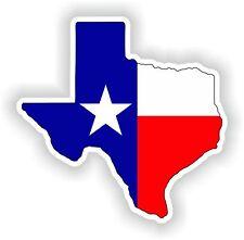 Texas Mapa Bandera pegatina Estado para parachoques Guitarra Puerta Laptop Casco Camión Caja De Herramientas
