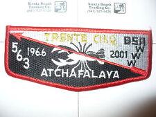 OA Atchafalaya 563, S-29,1966 - 2001, 35th Ann Lodge,Crawfish Flap,Evangeline,LA