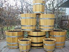Holz-Blumenkübel aus Akazie/ Pflanzkübel Holz,beste Qualität,langlebig,Neu!