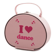 FILLES ROSE BALLET claquette I Love DANSE main Vanity-case Sac Katz Dancewear